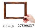額縁 フレーム 木製の写真 27599837