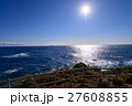 伊豆下田の爪木崎灯台から眺める、伊豆七島 27608855
