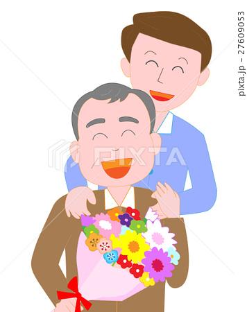 父へ花束のプレゼント 27609053