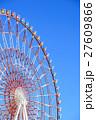 パレットタウンの観覧車と青空 27609866