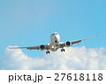 青空と飛行機 27618118