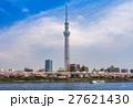 東京スカイツリー 墨田公園 桜の写真 27621430