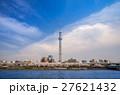 東京スカイツリー 墨田公園 桜の写真 27621432