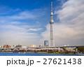 東京スカイツリー 墨田公園 桜の写真 27621438