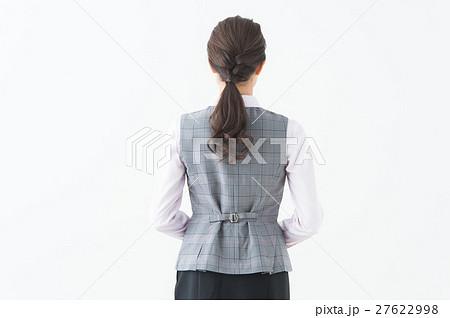 女性の後ろ姿(OL ビジネス) 27622998