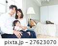若い3人家族、赤ちゃん 27623070