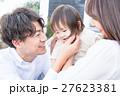 若い3人家族、赤ちゃん 27623381