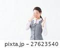 鼻をおさえる女性(OL ビジネス) 27623540