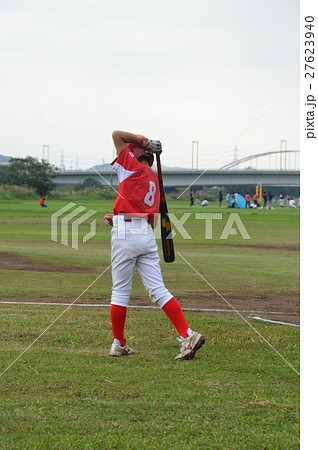 少年野球〜素振り 27623940
