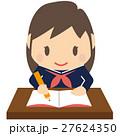 学生 女子高生 女の子のイラスト 27624350