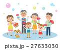カーネーション ファミリー 家庭のイラスト 27633030