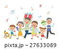 ファミリー 家庭 家族のイラスト 27633089