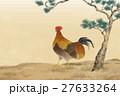 動物 鳥 おんどりのイラスト 27633264