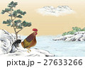 鳥 新春 正月のイラスト 27633266