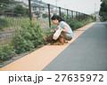 犬 ペット ミニチュアダックスの写真 27635972