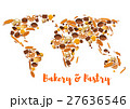 Bakery and pastry world map of bread 27636546