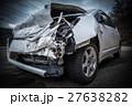 フロントが破壊された事故車 27638282