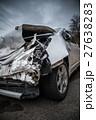 フロントが破壊された事故車 27638283