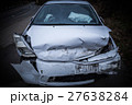 フロントが破壊された事故車 27638284
