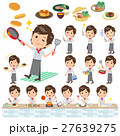 Western cuisine cook man cooking 27639275