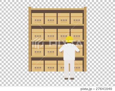 倉庫の保管業務イメージ 27641040