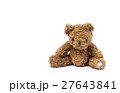 brown teddy bear isolated on white background 27643841