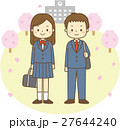 男女 学生 新入生のイラスト 27644240