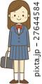 中学生 高校生 学生のイラスト 27644584