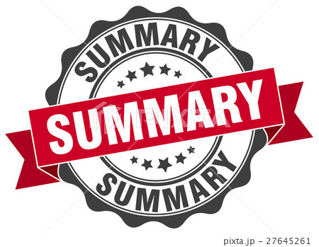 summary stamp. sign. seal 27645261