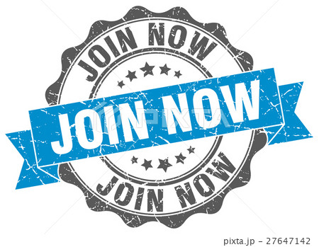 join now stamp. sign. seal 27647142