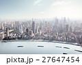 高層ビル群 超高層建築 高層ビルの写真 27647454
