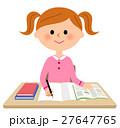 勉強する女の子 27647765