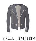 ジャケット 上着 ジッパーのイラスト 27648836