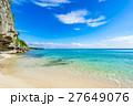 沖縄県 沖縄 海の写真 27649076