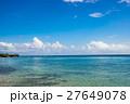 青空 沖縄 エメラルドグリーンの写真 27649078