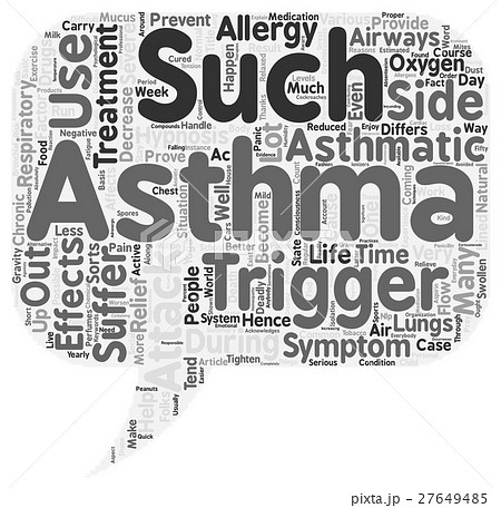 Asthma Attack Treatment Thanks To Hypnosis text ba 27649485