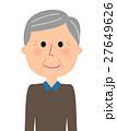高齢者 男性 シニアのイラスト 27649626