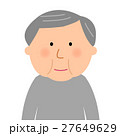 高齢者 男性 シニアのイラスト 27649629