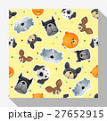 Animal seamless pattern collection with dog 2 27652915