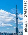 【東京都】スカイツリーと住宅街 27657880