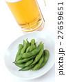 枝豆と生ビール 27659651