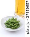 枝豆と生ビール 27659657