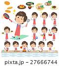 男性 料理 料理人のイラスト 27666744