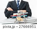 ビジネスマン、情報管理 27666951