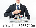 ビジネスマン、情報管理 27667100