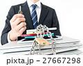 ビジネスマン、情報管理、鍵、ロック 27667298