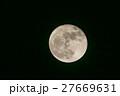 スーパームーン 夜 月の写真 27669631