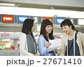 女性 空港 27671410