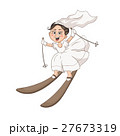 Cartoon bride 27673319