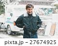 働く人 男性 建設の写真 27674925